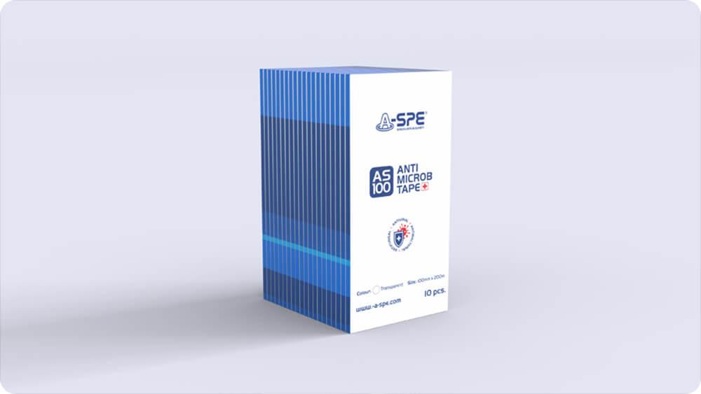 新型コロナウイルス対策 感染防止テープ シートタイプ(100 x 200mm / 10 pcs. per box)